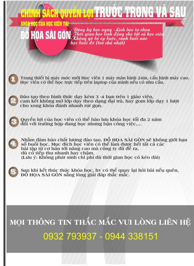 Đồ Họa Sài Gòn khai giảng khóa học tại Gò Vấp, Thủ Đức, Tân Phú, Q.12,....