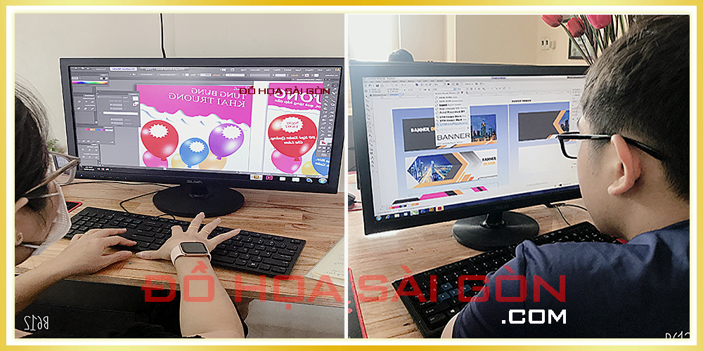 khóa học kèm thiết kế đồ họa uy tín ở Tp.HCM
