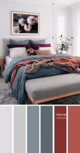 phối màu thiết kế nội thất hiện đại